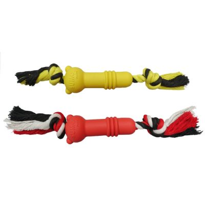 Rubber Sumo mini fit dog toy