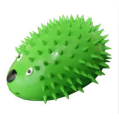 Rubber hedgehog design dog treat dispenser (L)