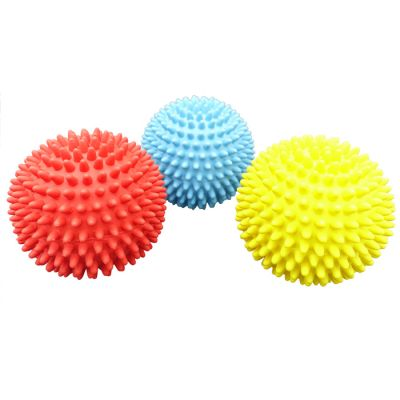 Latex spiky ball dog toy