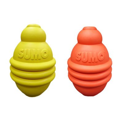 Rubber Sumo play M dog toy