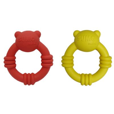 Rubber Sumo mini team dog toy