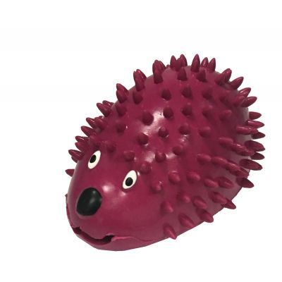 Rubber hedgehog design dog treat dispenser (S)